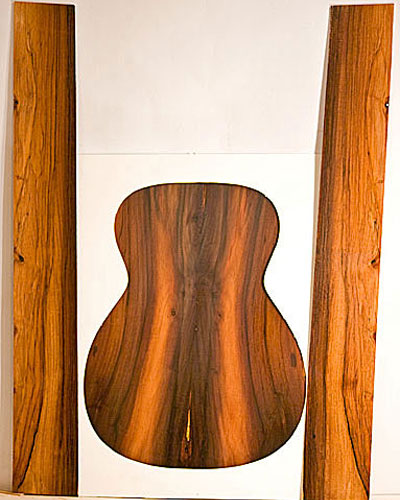 Brazilian Rosewood Set 4
