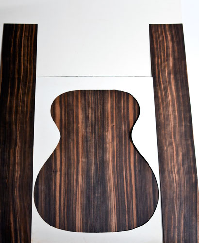 Macassar Ebony Set
