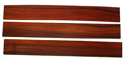 Cocobolo Fingerboard Blanks Photo