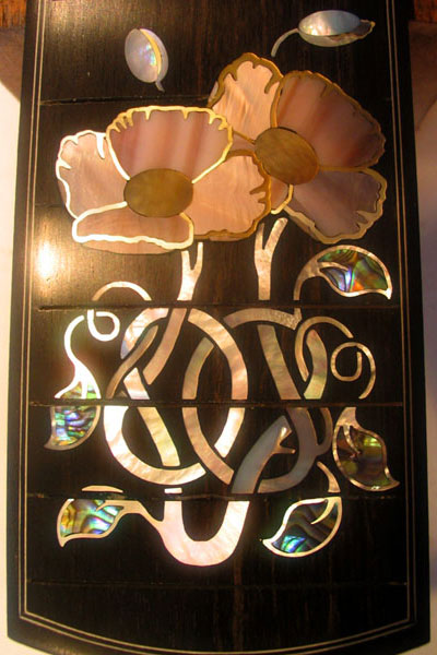 Fingerboard Vine and Flowers Inlay Option Image