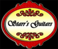 Starrs Guitars Sign